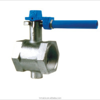 China Supplier Cast iron DN250 Threaded end Butterfly Valve