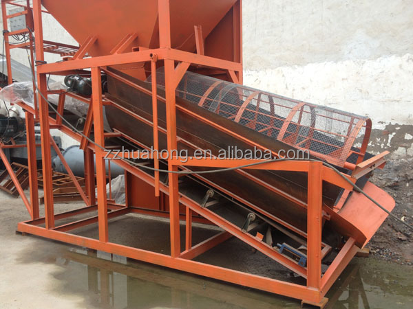 Mini Wash Plant : Huahong gold trommel for sale wash plant mini