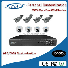 hot new products for 2015 h.264 1080P 2 megapixel poe camera ip and NVR Kit