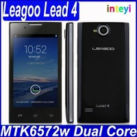 Original China Brand Cheapest Leagoo Lead4 cell phone high quliaty new smart android phone MTK6572 dual core dual sim cell phone
