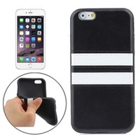 New Pattern PU Leather Coated TPU Mobile Phone Case for iPhone 6 Plus
