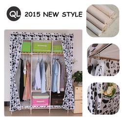 fashion cube shelf space saving natural material wood closet
