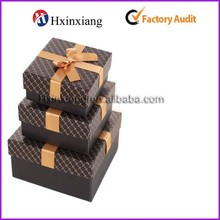 2015 New Design Recycled Folding Kraft Paper Gift Jewelry Packaging Box Manufacturer