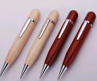 2015 New Product 64GB Wooden Pen USB Drive