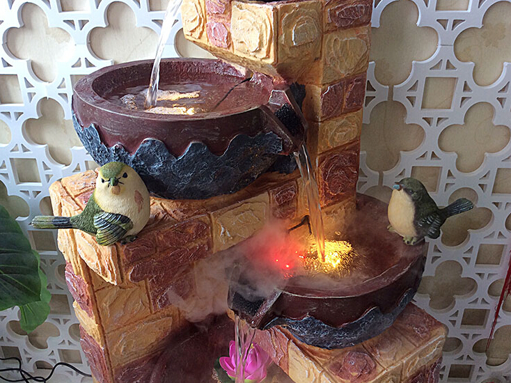 waterfall rock home decoration water fountains view home decoration