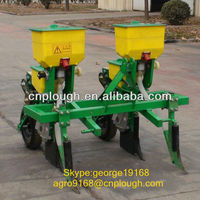 Tractor mounted 2 rows corn seeder planters