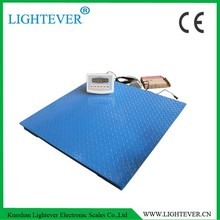 5000kg checker plate floor scale