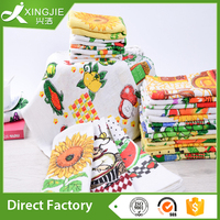 Promotional hot selling reactive printed cotton tea towel