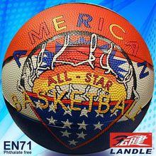 Inflatable basketball school basketball for training