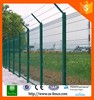 High quality green vinyl coated welded wire mesh fence