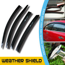 window vent visor for different auto models
