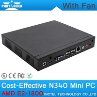 High quality Iron shell MINI PC WITH VGA Mini Car PC with gps 2G RAM ONLY Mini PC x86
