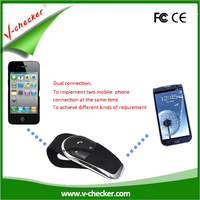 High Quality Bluetooth car Hands Free Kit with long standby time V-checker T202