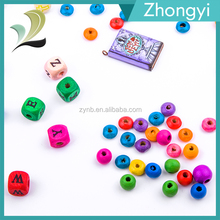 Top Sale Fashion Wooden Beads For Jewelry Natural Wooden Bead
