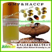 Ganoderma lucidum(reishi) spore oil capsule/softgel