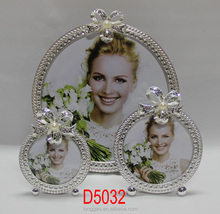 Pearl Wedding Anniversary Metal Photo Picture Frame