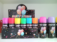 Party Color String, Party Crazy String, Silly String 3oz