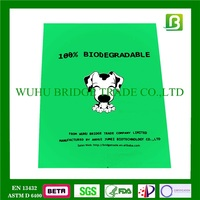 Bridge plastic compostable cornstarch poop bags