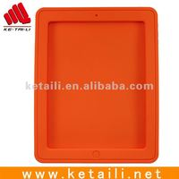 silicone smart phone case for ipad 2 cover in different color or custom logo