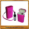 Eco-friendly Customized Export To Argentina Vintage High Quality PU Leather Wine Box