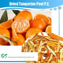 dried orange peel tangerine peel in natural shape,slice, cut and powder
