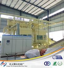 seguro de comércio pcb placa de separação de componentes de máquinas de reciclagem