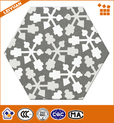Pastoral style heat resistance ceramic floor tile