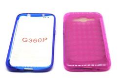 tranparent glossy inner matt tpu phone case for blackberry G360P