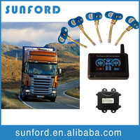 Truck lorry tire pressure checker convenient tire temperature monitor TPMS truck tire system