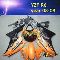 Best price Motorcycle Fairing kit for YAMAHA YZF -R6 2008-2012