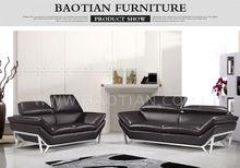 Baotian Furniture 3 seater sofa modern sofa designs Metal leg