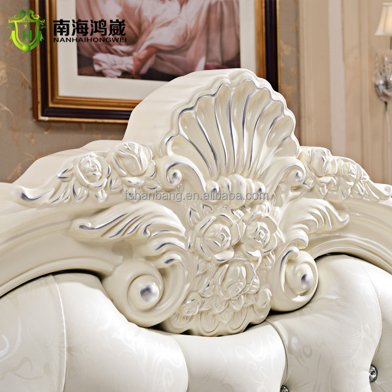 French Baroque Bed Of Antique Luxury Rococo European Baroque Bed French