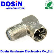 R/A F male to female adapter wire connector coax adapter