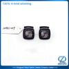gentleman zinc alloy square black cufflinks krementz cufflinks personalised cufflinks