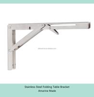 Amarine Made Stainless Steel Folding Table Bracket