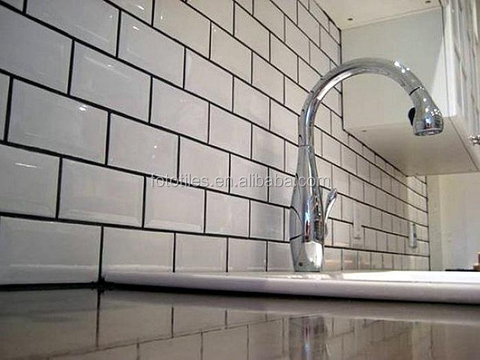 Keuken keukentegels metro inspirerende foto 39 s en idee n van het interieur en woondecoratie - Tegel metro wit ...