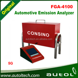 portable multi gas detector measure concentration of HC, CO, CO2, O2 contained in exhaust gases from gasoline engine of cars