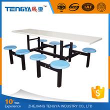 hot sale school dinning hall restaurant fiberglass table