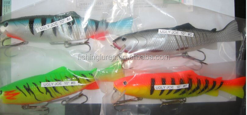 Soft plastic and hard fishing lures and swimbaits buy for Hard and soft fishing