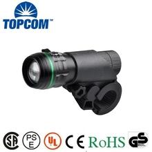 Battery Power Supply and Handlebar Mounting Placement 200 lumen bike light