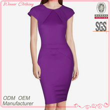 high quality fashion new design woman bodycon dresses with cap sleeve