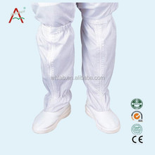 Made in China white long industrial safety boot for women