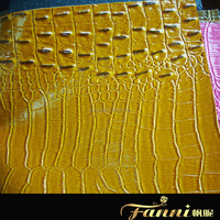 pvc leather for bag/rexine material for making lady's bag/leatherette bag material