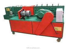 AY48-2B seamless steel pipe straightening machine/factory sell /derusting/brush paint