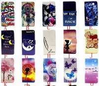 New product colorful printing wallet stand leather phone case for Samsung galaxy s6 edge