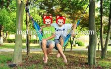 Brand new nylon mini parachute with wooden bar soft cotton hammock