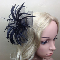 High Quality Party Fashion Hair Feather Fascinator For Women