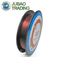 150m Hot sale Fluorocarbon Color Coating Line Carp Winter Ice Fishing Lines Super Smoother Stronger Leader Line