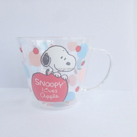 Borosilicate glass tea cup with handle,shot glass tea cup with logo,small glass tea cup