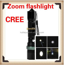 NEW Fusion of Sophistication for Instrumental hammer 450 Lm XML LED Zoomable Rechargeable Flashlight